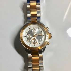 Fossil Two Tone Mens Watch